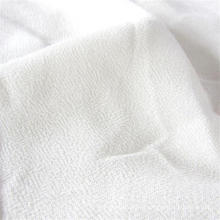 White Color Crepe Rayon Apparel Fabric