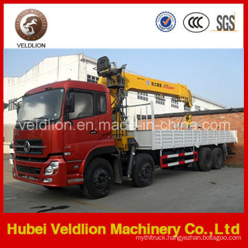 Dongfeng 12ton/12t Truck Mounted Crane