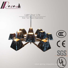 Factory Price Black Shade Iron Pendant Lamp for Hotel