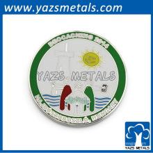 moneda de plata de encargo del fabricante que embala la caja de la moneda