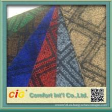 Coche del telar jacquar alfombra tela por los rodillos