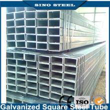 Оцинкованное железо Q235 / Q345 квадратная или прямоугольная труба