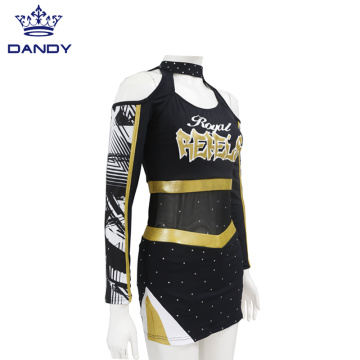 Großhandel sbuliamtion balck Cheerleading Uniform