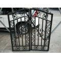 Diseño de la puerta de hierro forjado hogar diseño moderno popular