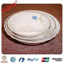 Round Ceramic Porcelain Bowl Wholesale in China