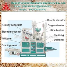 ctnm15 small auto complete rice milling machine