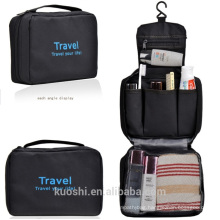3 fold multifunction folding waterproof hanging toiletry bag