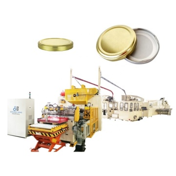 Glasflasche Obst Weißblech Kappe Produktionslinie