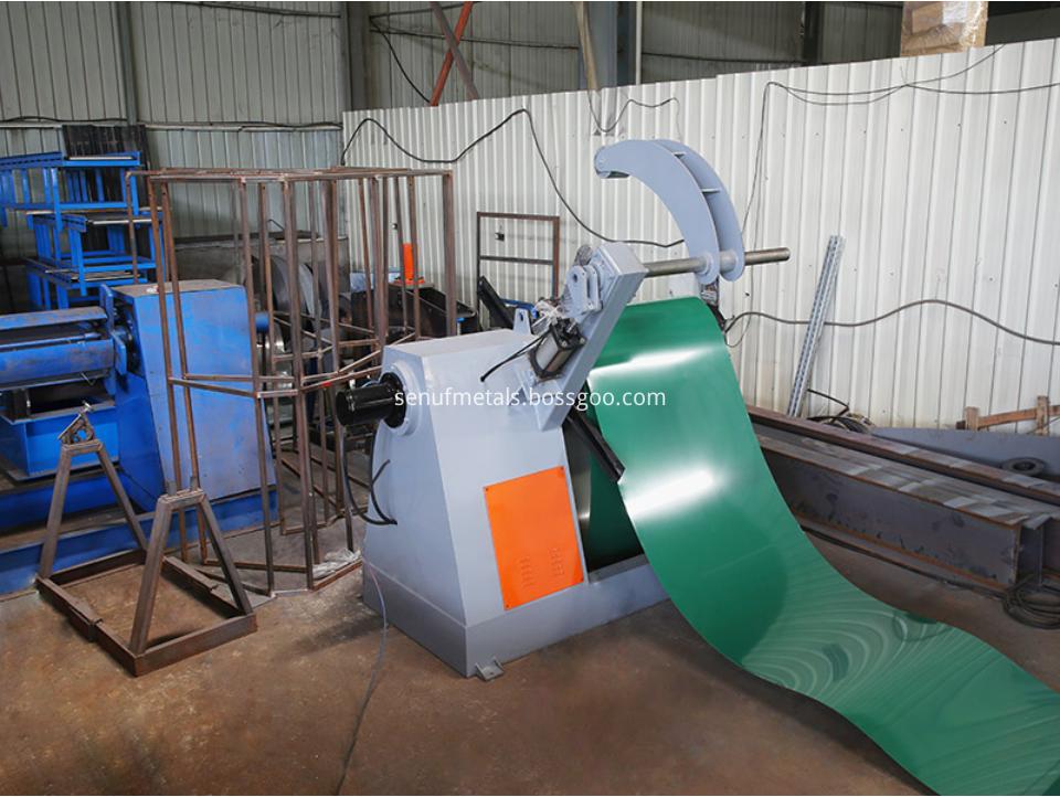 7 ton hydraulic decoiler