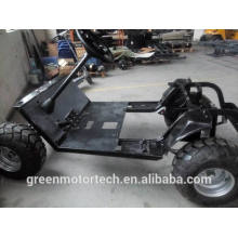 Steel chassis for golf cart