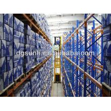 China armazém armazenamento muito narrow-aisle(VNA) racking da pálete sistemas