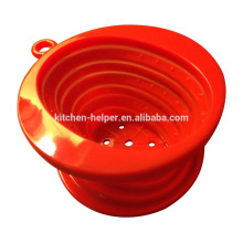 China Professional Manufacturer Food Grade Heat Resistant Foldable Vietnam Style Silicone Coffee Dripper/Silicone Coffee Filter