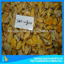 high quality cooked mussel without shell