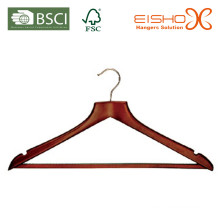Hanger en bois pour costume (MC032)
