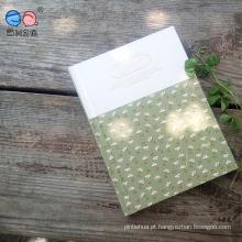 A6 Hard Cover Square Binder Pocket Glue Blank Diary Notebook (XLJA680-X01)