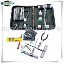 25 PCS Kits de Reparação de Pneus de Carro Tubeless Tyre Insert Kit de Ferramentas
