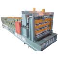 Dreischichtige glasierte Dach- und Wandprofiliermaschine