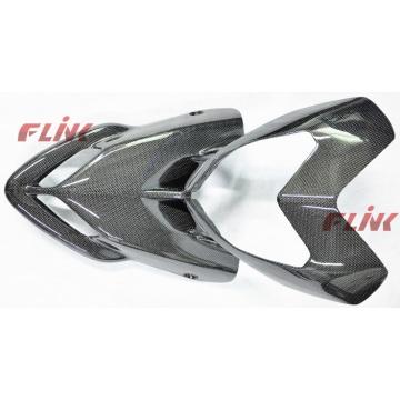 Carbón delantero de las piezas de la fibra del carbón de la motocicleta (DHY03) para Ducati Hypermotard