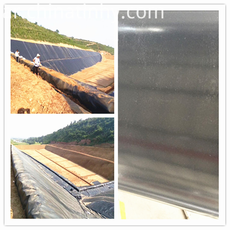 Smooth HDPE Waterproofing Geomembrane