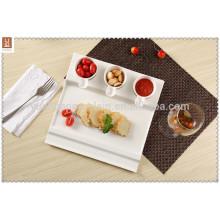 direct sale snack serving porcelain plate