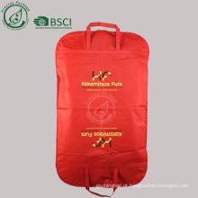 capa de terno de saco de vestuário personalizado de fábrica
