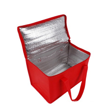 Dapoly Eco Friendly Recyclable Customized Non Woven Cooler Bag cooler lunch bag folding tote food delivery insulated cooler bag