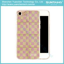 Cube série Bright Bling TPU filme brilhante Soft Case para iPhone 7 Plus