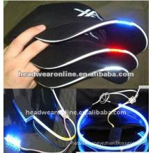 fashion LED baseball caps/baseball caps with LED lights