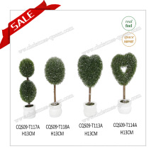 Las mejores plantas plásticas ornamental del Topiary de la venta el árbol H10-19cm de la flor de cereza