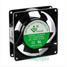 92mm 92X92X25.5mm AC Fan for Industrial Equipments