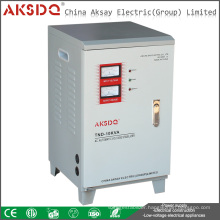 SVC TND 30KVA High Precision Servo Motor Control Automatic Voltage Stabilizer For Air Conditioning