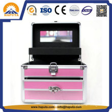 Beautiful Jewelry Box with Drawers and Makeup Mirror