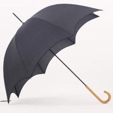 Manual Open Wood Handle Straight Umbrella (BD-38)