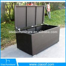 Big Size Rattan Garden Cushion Box