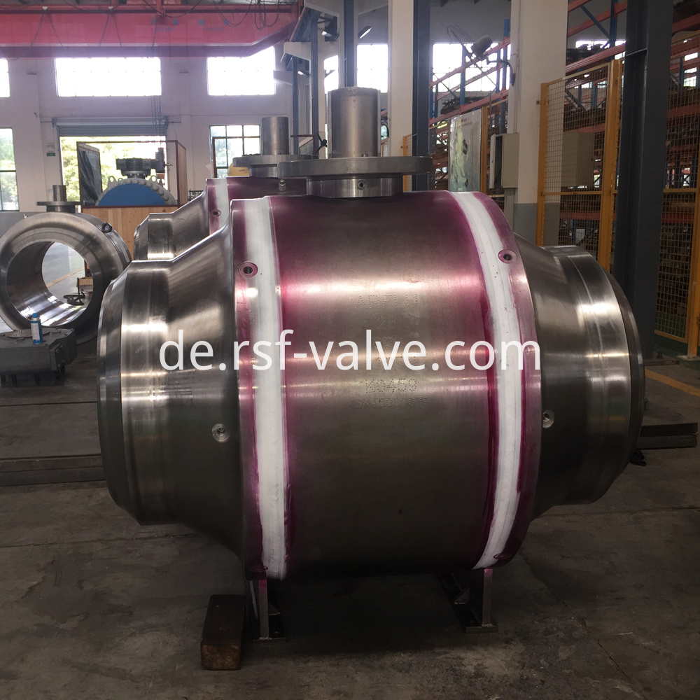 Welded Body Trunnion Mounted Ball Valve 3