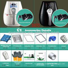 3D sublimation heater transfer printer and printing machine cup t-shirt made in china factory