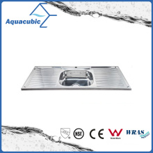 Above Counter Stainless Steel Moduled Kitchen Sink (ACS-12050S)