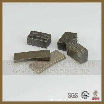 Segment de coupe de granit de segment de Laney