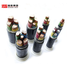 halogen-free low smoke flame-retardant medium voltage power cable Copper (Aluminum) core XLPE insulation thick steel wire
