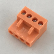 3.96MM Pitch Orange Female Pluggable Terminal Blocks