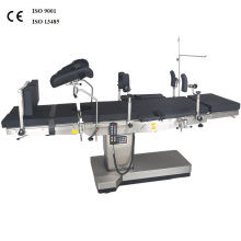 Deux tables d'opération hydrauliques électriques