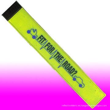 Logos personalizados que calientan la cinta reflexiva del PVC