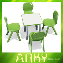 Splicing type plastic student table for children
