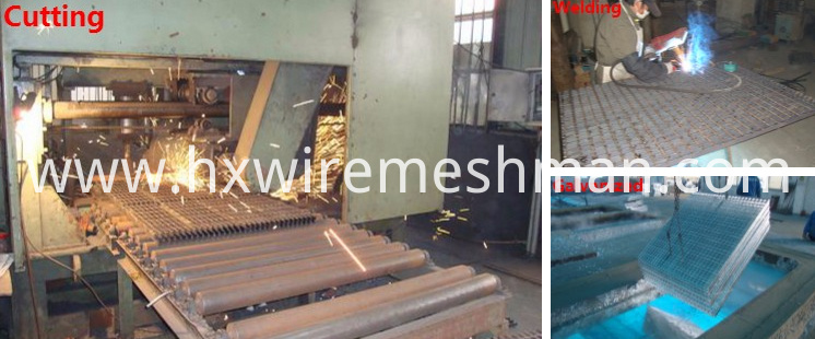 steel grating cutting