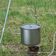 Handle Camping Pot Cooking Set Pot Tableware