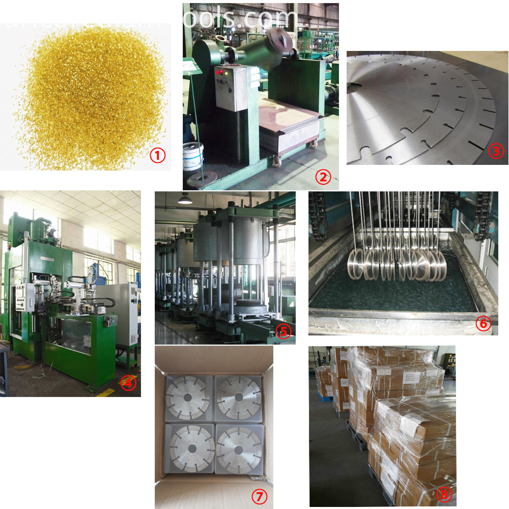 sinter hot pressed production process