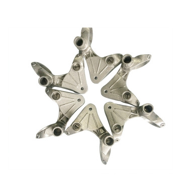 Moulage industriel en aluminium de bloc de moteur de composants polis par composants