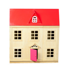 Wooden Doll House & Kitchen Set for house