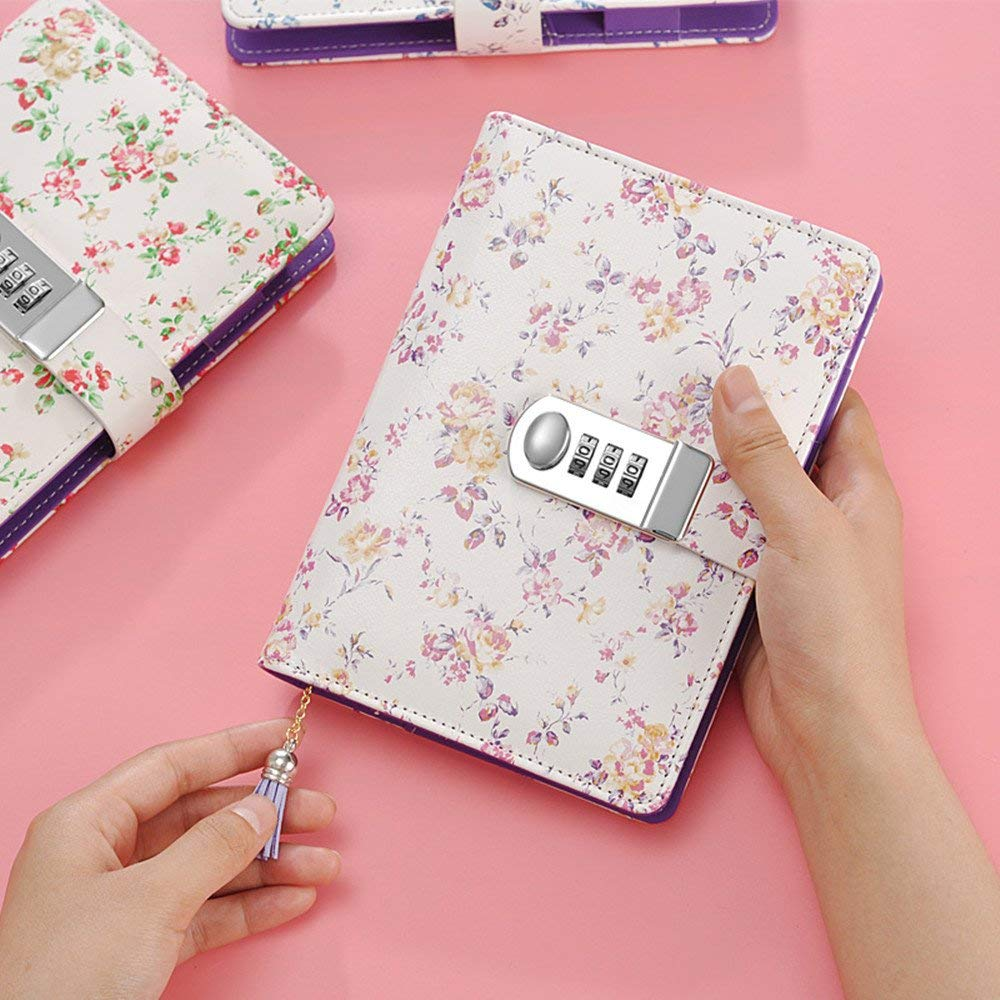 Pu Leather Multi Color Secret Diary 2