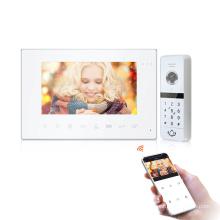 Bcom Smart home system ip wifi night vision waterproof video doorbell , Tuya smart app support video door phone intercom system